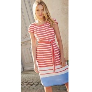 Boden Striped Day Dress